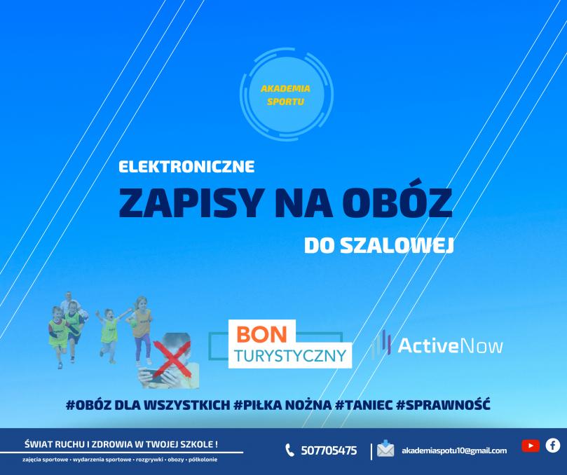 Oferta obozowa Akademii Sportu – wakacje 2021